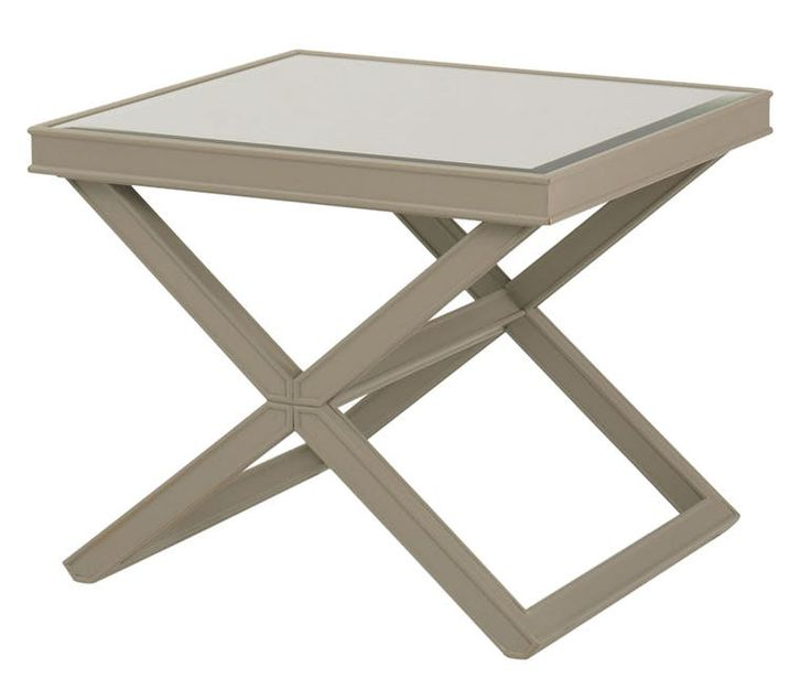 Mirrored X Cocktail Table Ot413 Traditional, Transitional, Wood, Side End  Table By Kravet