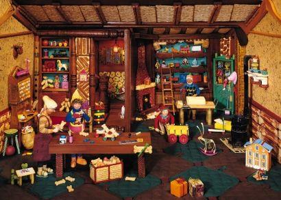 Best 25+ Santas Workshop ideas on Pinterest   Christmas cubicle ...