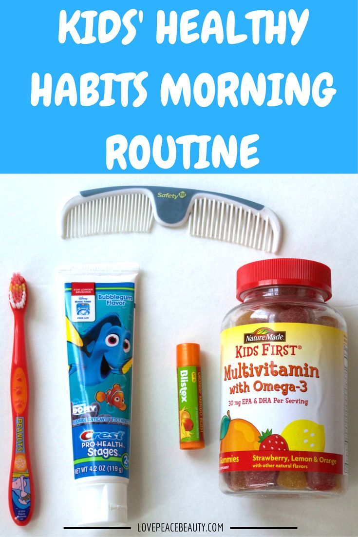 These are the steps we take to starting our morning with healthy habits! Our morning wouldn't be the same without Nature Made®️️ KIDS FIRST®️️  #NatureMadeAtTarget #IC (ad) http://lovepeacebeauty.com/kids-healthy-habits/
