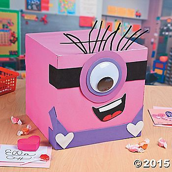 Are you looking for a creative way to collect all those Valentine's Day gifts? This DIY Minion exchange box will be a wonderful craft for parents and ...