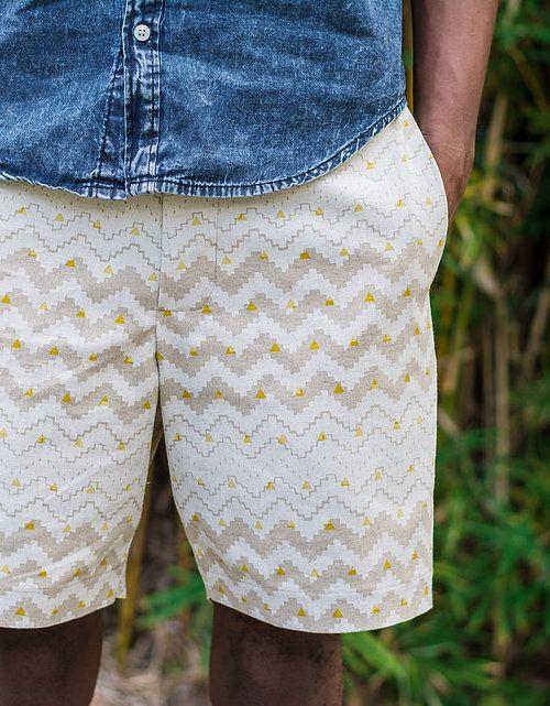 Peta Odini Aztec Print Shorts
