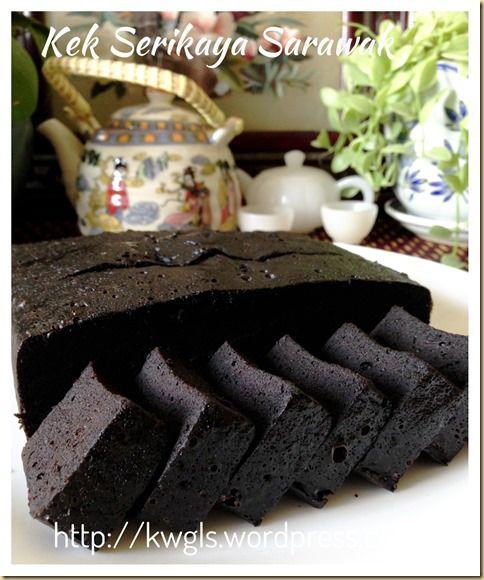 Sarawak Midnight Cake (Seri Kaya Kek Sarawak) #Kaya #Kueh #Sarawak