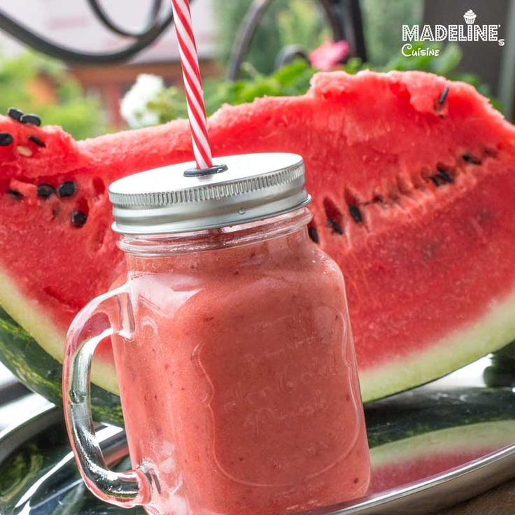 Smoothie de capsuni / Watermelon smoothie