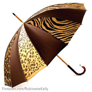 Animal Print Umbrella gotta get my Twisted Sister one of these for the convention season !