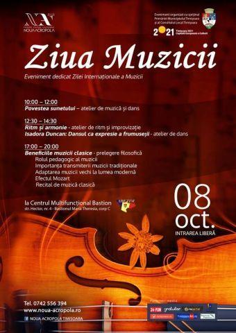 Ziua Internațională a Muzicii, sărbătorită la Bastion ‒ 8 octombrie | Tourism Banat