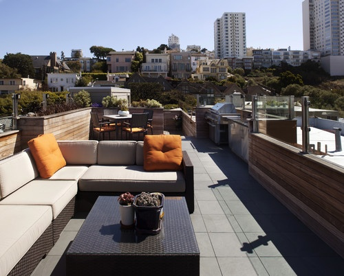 Roof Deck   Contemporary   Patio   San Francisco   Gast Architects