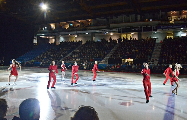 The Langley Events Centre played host to figure skating stars Kurt Browning, Elvis Stojko, Joannie Rochette, Jeffrey Buttle, Shawn Sawyer, Kimmie Meissner, Sinead and John Kerr, and Kaetlyn Osmond.