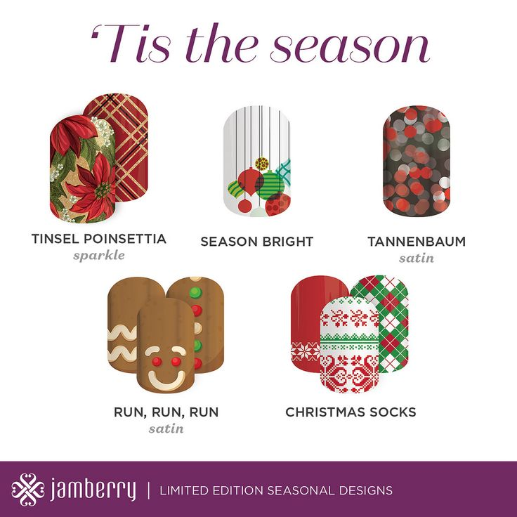 Jamberry Nails Christmas Styles