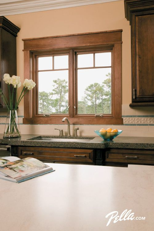 Expand your kitchen view with Pella Designer Series