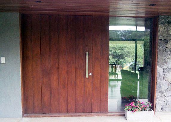 Mejores 17 imágenes de Puertas de Ingreso en madera en Pinterest ...