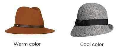 If you have a warm coloring you'll look better in neutrals such as brown, beige, camel and olive green.