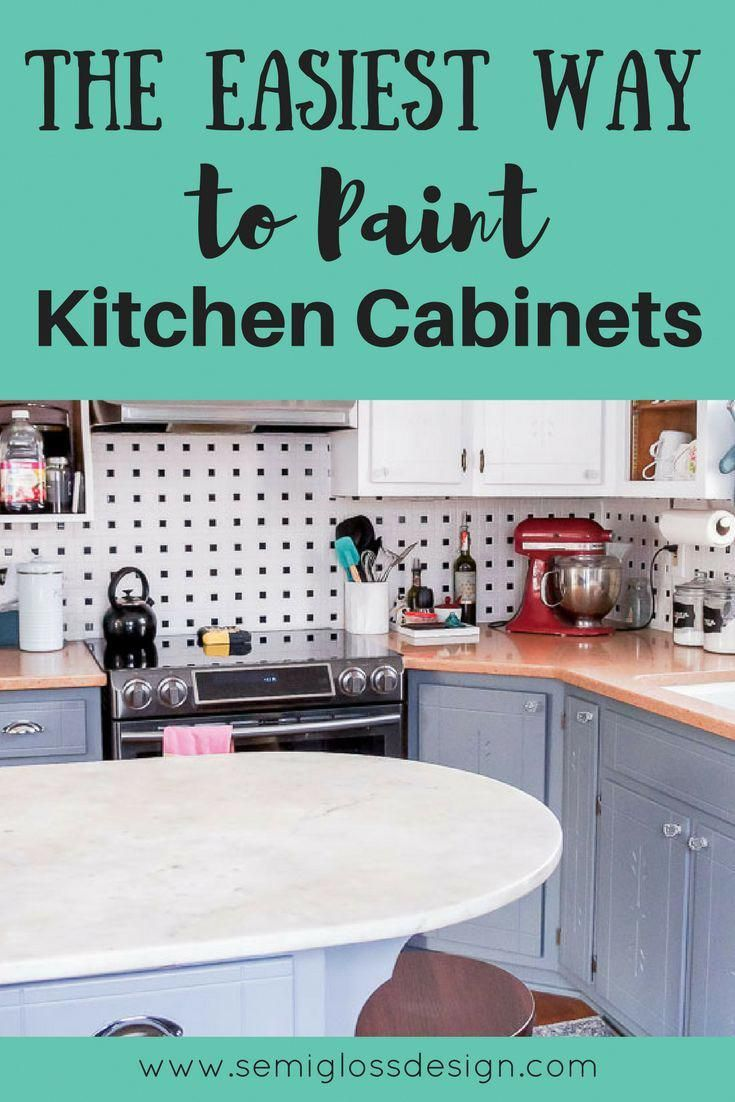 Want To Update Your Kitchen On A Budget Learn The Easiest Way To Paint Kitchen Cabinets In Budget Kitchen Remodel Painting Kitchen Cabinets Kitchen Cabinets
