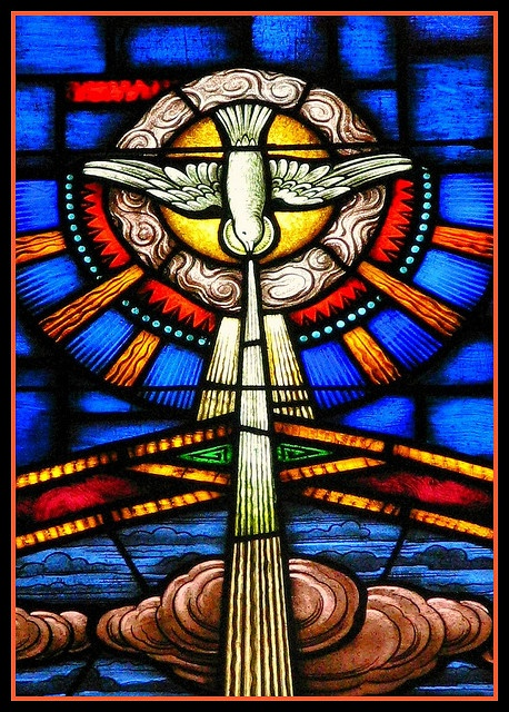 The Anointing of the Holy Spirit. (Beam me down!)Photos, Mary Church, Catholic, Clama Espiritusanto, Anointing, Holy Spirit, Angels Spirituality, Blessed Holy, Stained Glasses