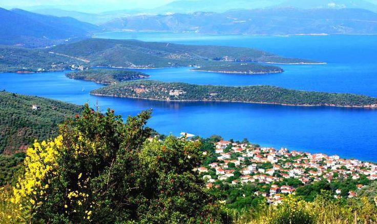 Mount Pelion, scenery in Greece