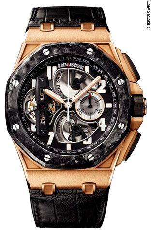 Audemars Piguet Royal Oak Offshore Tourbillon Chronograph Mens Watch Model:  S?s