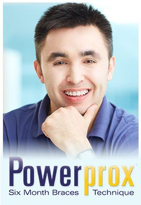 The Powerprox Six Month Braces™ Technique is a radical new technology that develops your teeth into a beautiful smile, quickly and comfortably. In ten appointments or less, completed over approximately a six-month period, wide gaps can be eliminated, and overcrowded or overlapped teeth can be gently moved into a more aesthetic position.