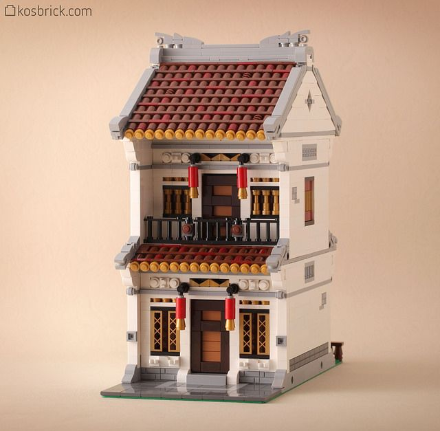 ~ Lego MOCs City ~ Residence House | by kosbrick