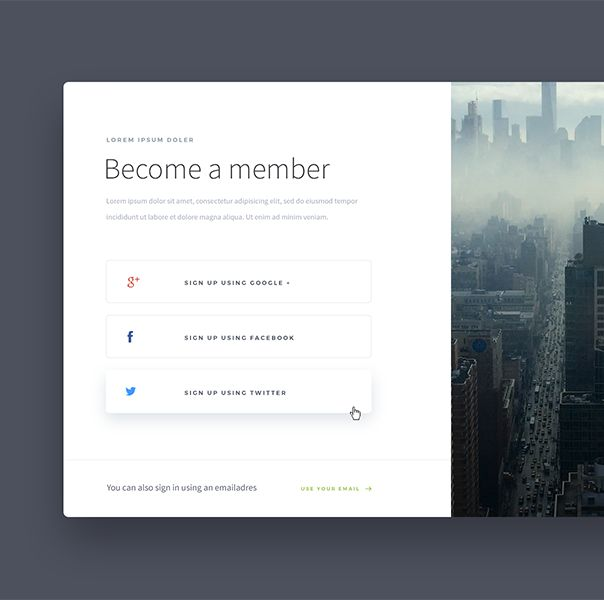 LOGIN MODAL - DESIGNED BY GILL #ui #design
