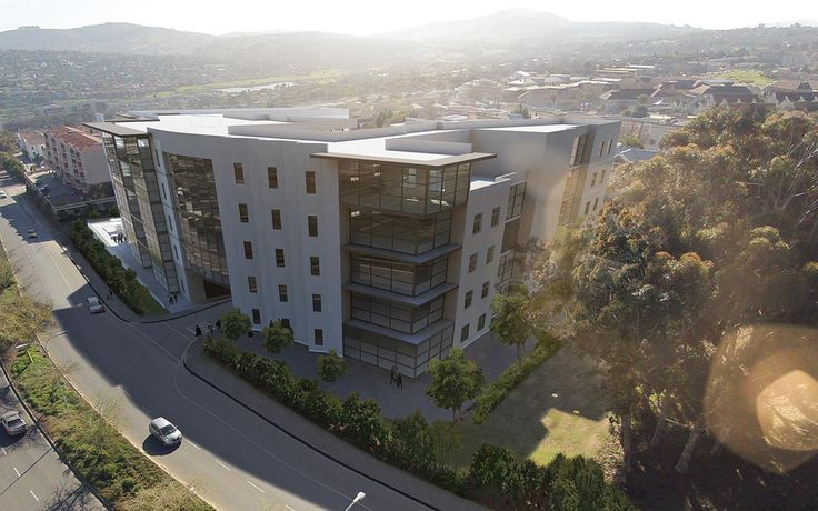 Danena Office Park | Bellville, South Africa. #office_park #architecture_renders