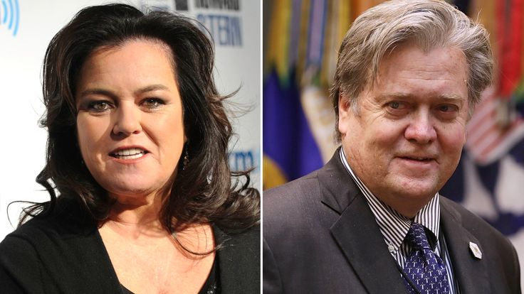 Get a glimpse at what Rosie O'Donnell would look like as Steve Bannon on 'SNL'