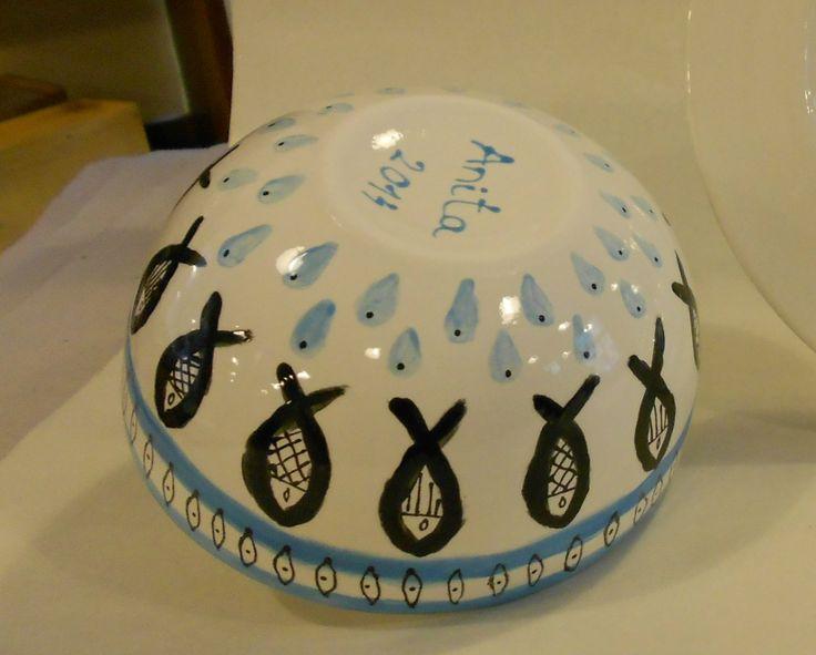 Ceramic painting 1.