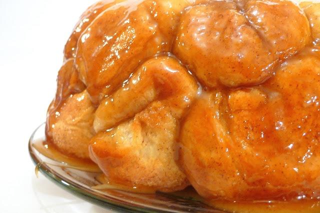 cream cheese monkey bread a scrumptous take on the traditional monkey ...