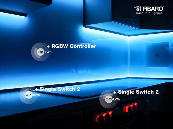 Oświetlenie LED to dowolny nastrój na zawołanie. Steruj nim za pomocą modułów #FIBARO.
