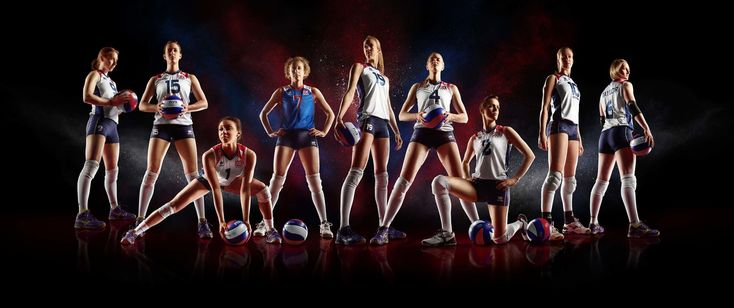 Photography of the GB Olympic Women's Volleyball Team as part of the Global Olympic Art Series. #Photography #SimonDervillerPhotography #SportsPhotography #Volleyball #Sports #Art #GBOlympics #WomensVolleyball #Olympics #GlobalOlympicArtSeries #Sportswomen