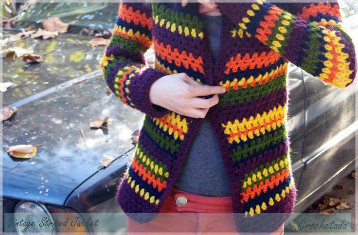 Vintage Striped Jacket