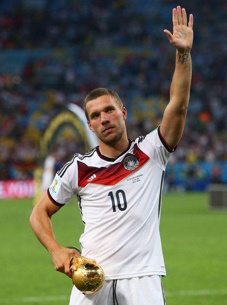 Lukas Podolski Photos - Germany v Argentina: 2014 FIFA World Cup Brazil Final - Zimbio