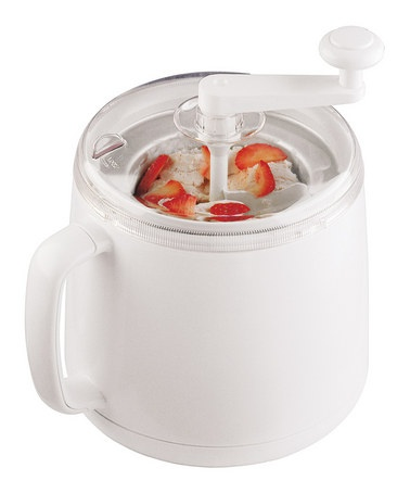 Take a look at this Cuisipro White Donvier Ice Cream Maker  by Ice Cream Party Collection on #zulily today!