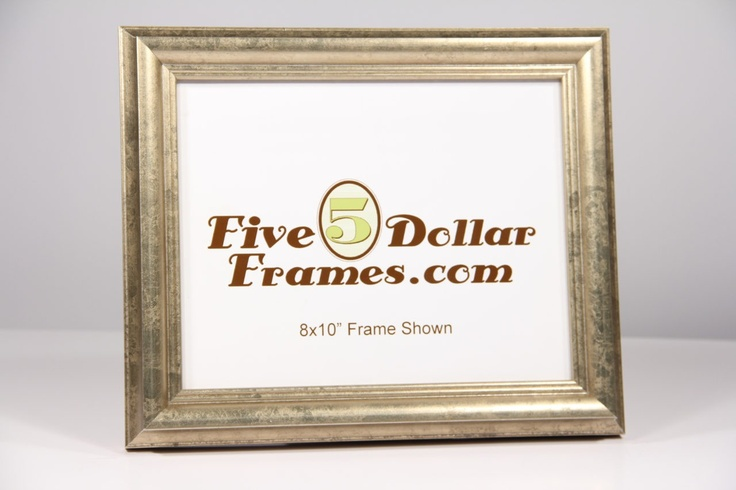 Traditional Champagne Silver Picture Frame | 5DollarFrames.com | Discount Picture Frames | Bargain Picture Frames | Deals and Bargains