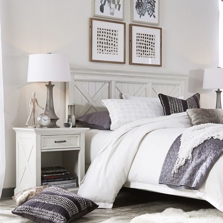 Cozy Homestyles: Havenside Home Port Lavaca X-detail Queen/ Full Headboard