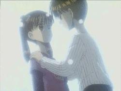 Kodocha ~ Sana and Akito (gif)