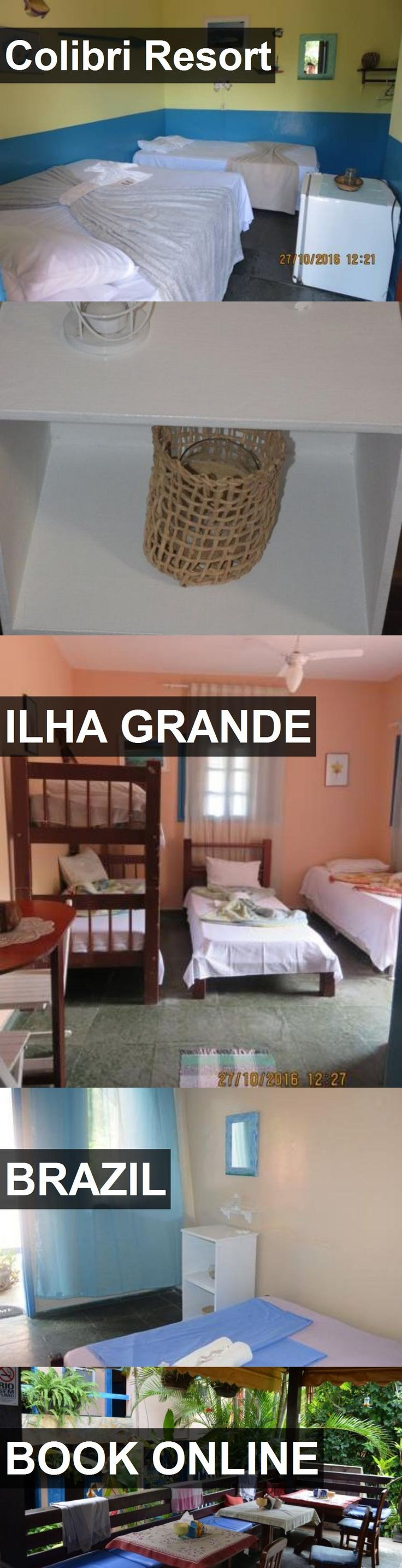 Hotel Colibri Resort in Ilha Grande, Brazil. For more information, photos, reviews and best prices please follow the link. #Brazil #IlhaGrande #travel #vacation #hotel
