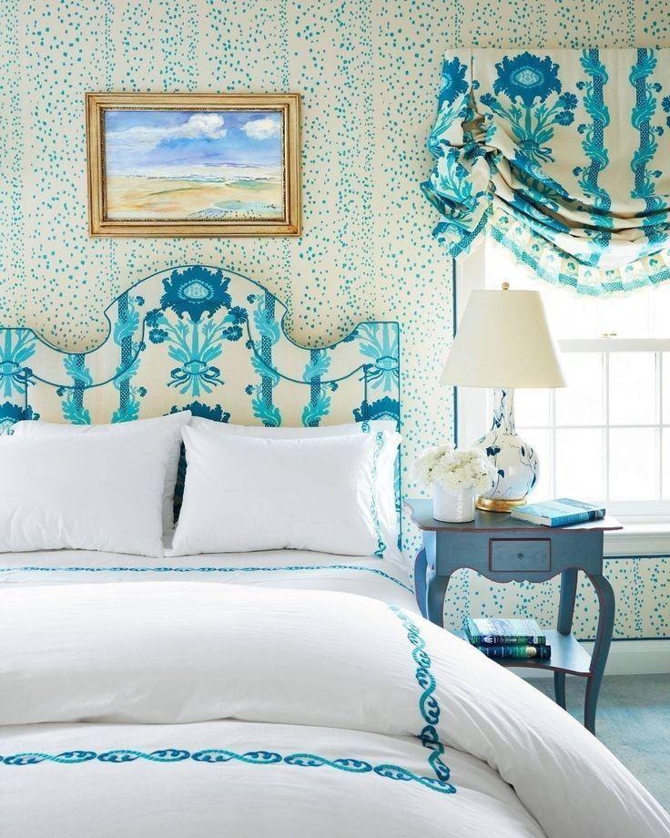 Всем свежего утра и приятного пробуждения! @christophermaya #galleria_arben #blueandwhite #bedroom #спальня #цвет