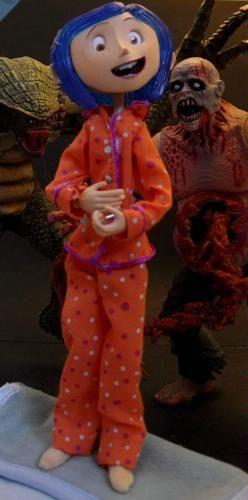 Amazon Com Coraline Bendy Doll In Pajamas Toys Amp Games