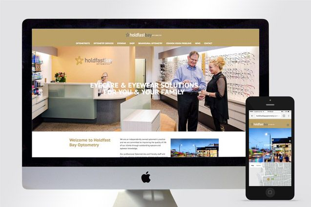 Flux recently completed the design and development of Holdfast Bay Optometry's new website and online store