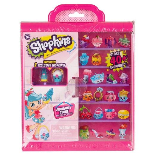 So much to adore in your very own store!<br>Create a Shopkins window display for all to adore in your Shopville Season 7 Collector's Case! • Show off a collection that will stop traffic and store over 60 Shopkins! It's the only way to get carried away!! <br><br>• Window dress your shopkins store!<br>• Make a display for all to adore!<br>• Go window shopping in your shopkins store!<br>&bull...