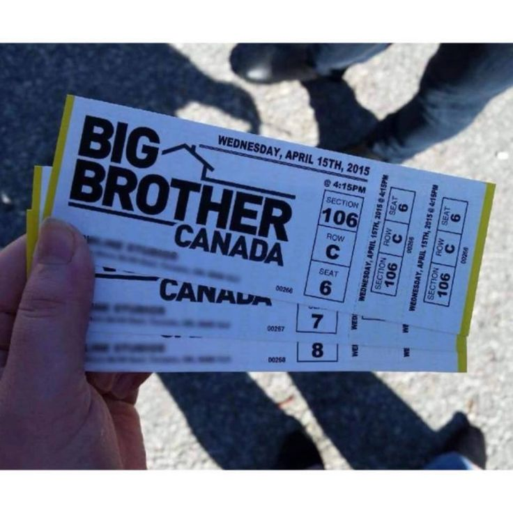 Big Brother Canada 3 | Tickets to taping on April 15, 2015