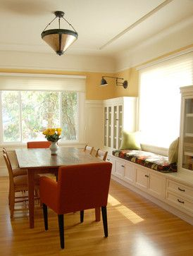 1000 ideas about window seat storage on pinterest seat for Dining room niche ideas