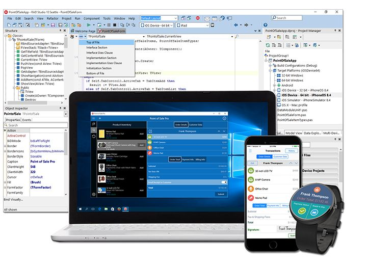 Delphi | Develop Apps Windows, Mac OS X, iOS and Android