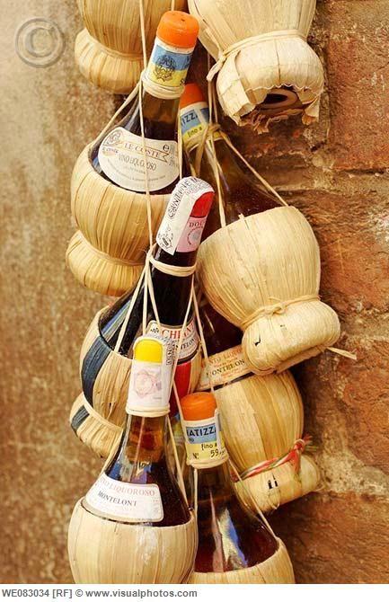 Chianti wine from Italy