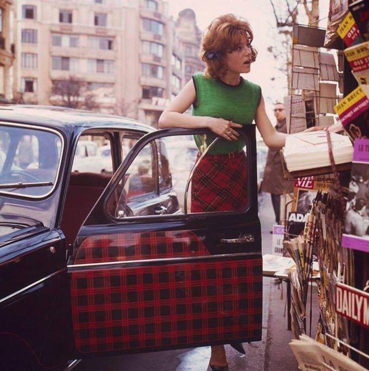 Sheila (Annie Chancel), Paris, 1963