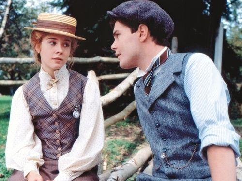Megan Follows and Jonathan Crombie as Anne Shirley and Gilbert Blythe- Anne of Green Gables
