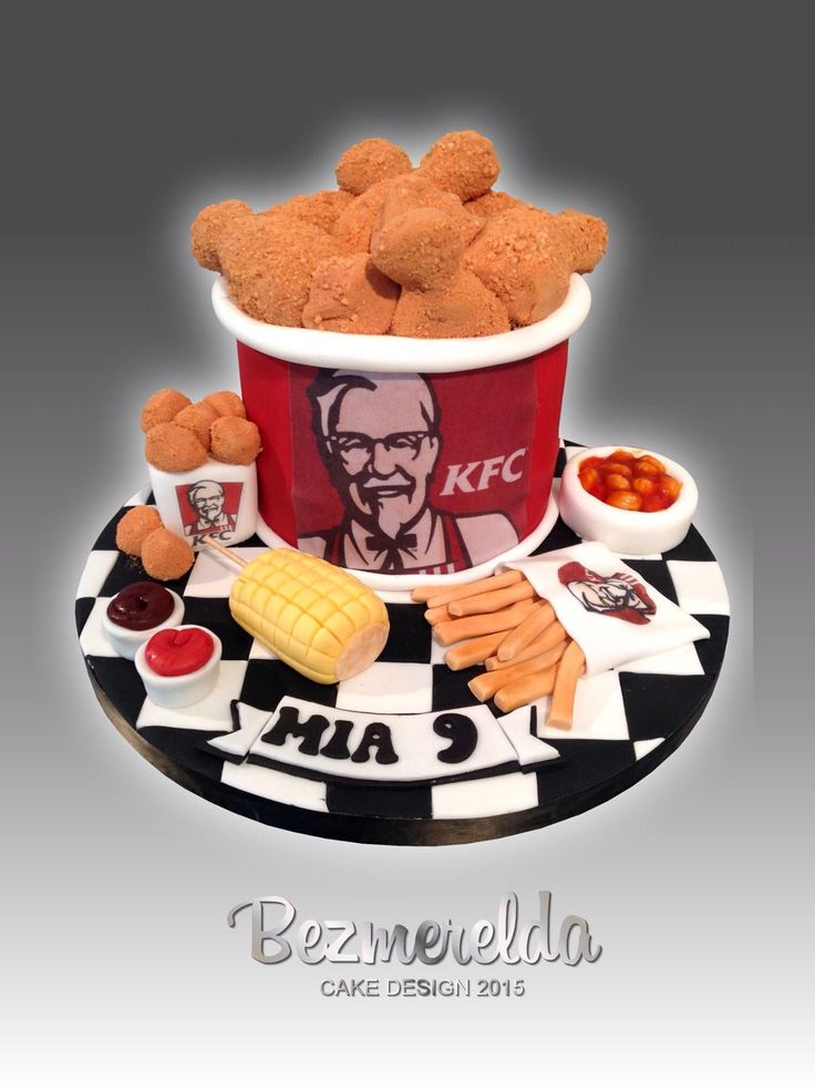 how to make a kfc birthday cake