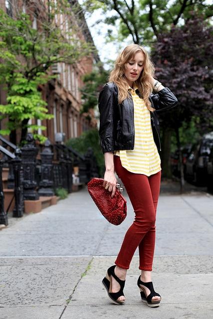 Lemon Stripes / http://wp.me/p1q59G-1hB