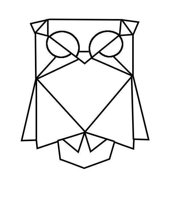die besten 25 geometrischer wolf tattoo ideen auf. Black Bedroom Furniture Sets. Home Design Ideas