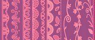 10 Lace, Floral Dividers Pinceles para Photoshop :: Brushes Download :: Descargá Gratis Pinceles para Photoshop, Estilos de Capa, degradados, Tutoriales, Paquetes de Iconos :: Powered by BroHost!