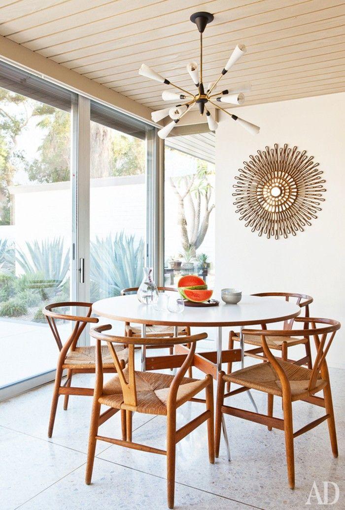Inside a Modern Palm Springs Home With 1960s Flair via @MyDomaine